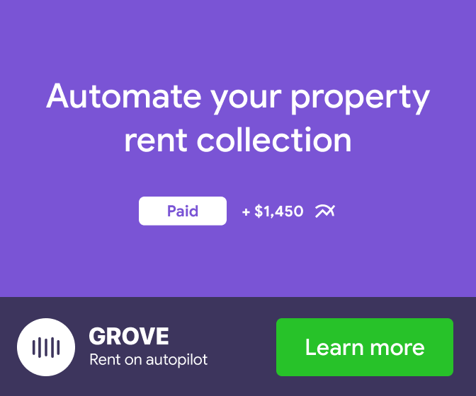 Hands free rent collection | Grove Rent